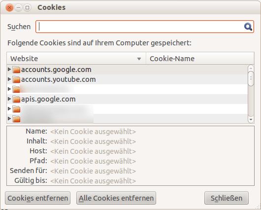 cookies erlauben firefox